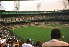 View from CF at Tiger Stadium, White Sox Baseball, Baseball Park, Detroit Tigers Baseball, Baseball Field, Shea Stadium, Yankee Stadium, Tiger Stadium, Stadium Tour, State Of Michigan