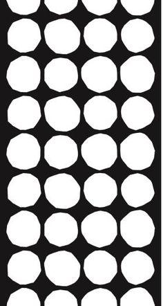 Pattern Kivet design Maija Isola, Marimekko upholstery fabrics.