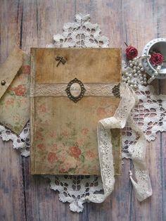 Believe Hope Love diary journal notebook vintage by BethStyleBook