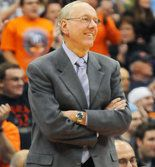 Syracuse Basketball Coach Jim Boeheim.   Of COURSE I have a Cuse board, and of COURSE he's on it.