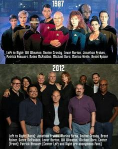 TNG through the years