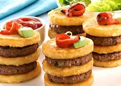 BBQ Mini Burger Stack recipe from Food in a Minute