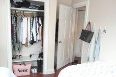 Our cute apartment in NYC • Eirín Kristiansen  (Cute little wardrobe)