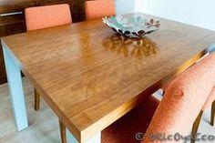 Marzua: Cómo eliminar la cera de un mueble de madera