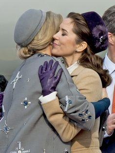 El esperado encuentro de Máxima de Holanda y Mary de Dinamarca - Foto 4