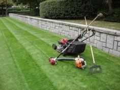Always provide the best service possible for your customers in the lawn care field. Repeat business is the key.