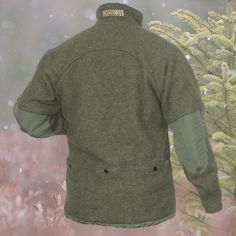 Grey Fox Pullover : Empire Wool and Canvas Company Army Rucksack, Tactical Clothing, Bike Clothing, Wool Overcoat, Grey Fox, Smart Outfit, Fat Bike, Field Jacket, Diy Clothes