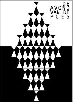 Tijdens de Avond van de Poes in het Torpedotheater, Amsterdam, vertelde een poezenfanaat dat een poes eigenlijk uit twee driehoekjes bestaat.