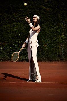 """Rise & Fall"" (+) Elle Italia, November 2011photographer: David Burton Anouck Lepere"