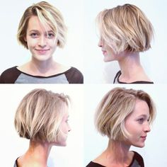 short blunt bob - Google Search