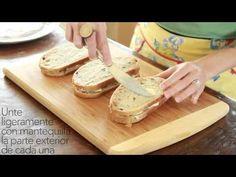 Sándwiches de Queso a la Plancha