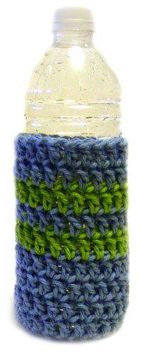 Crochet Pattern: Water Bottle Cozy