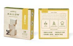 North Mallow Artisan Marshmallows — The Dieline - Branding & Packaging Design