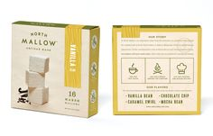 North Mallow Artisan Marshmallows — The Dieline - Branding & Packaging Design