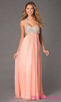 Pretty in peach? Prom night approved!