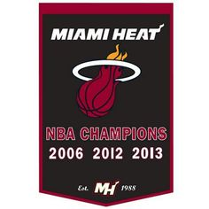 Congratulations to the Miami Heat!!!