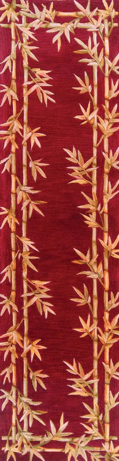 KAS Sparta Bamboo Border Rugs | Rugs Direct