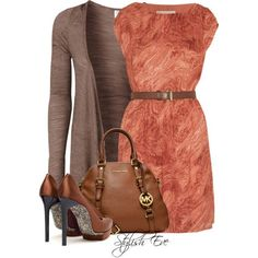 Stylish Eve Outfits Are you a Michael Kors girl? You will love the outfit collection our stylists put together using Michael Kors accessories. Stylish Eve Outfits, Dressy Outfits, Cute Outfits, Casual Dresses, Work Fashion, Fashion Outfits, Womens Fashion, Look Formal, Swagg