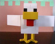 Lego Minecraft chicken
