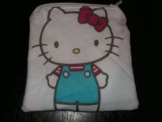 Hello Kitty handmade fabric coin change by alwaysamazingdesigns, $3.99