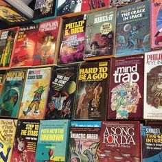 Independent Science Fiction - Warped Space SciFi Club   Help Rescue Rare & Vintage Science Fiction Books