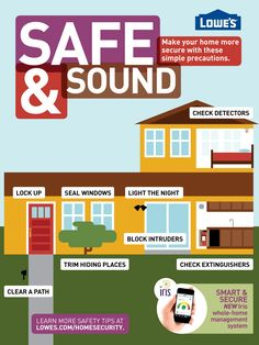 Make your home more secure with these simple precautions.