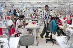 Garment factory, Shaun Fynn (Workers Series 1 - Garment Factory), Coimbatore, India