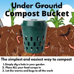 The simplest and easiest way to compost with Go Eco Compost Buckets Compost Bucket, Eco Store, School Pack, Organic Soil, Buckets, Worms, Simple, Bucket