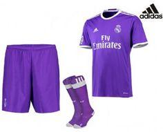 Las Mejores 27 Ideas De Equipación Adidas Real Madrid Oficial 2016 17 Real Madrid Ropa Deportiva Adidas Real Madrid