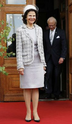 Queen Silvia, June 6, 2014 | Royal Hats