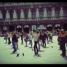 Join the crowds of many and take plenty of photos in Piazza San Marco. It might be a tourist trap, but it's a beautiful one at that!