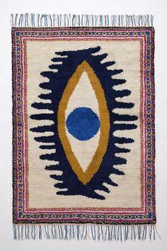Mara Hoffman x Anthropologie all seeing eye rug