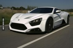 This is the Zenvo ST 1. What a beauty