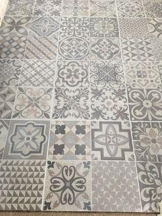 Skyros Delft Grey Wall and Floor Tile - Wall Tiles from Tile Mountain Morrocan Floor Tiles, Bathroom Floor Tiles, Wall And Floor Tiles, Morrocan Tiles Kitchen, Morrocan Bathroom, Attic Bathroom, Family Bathroom, Small Bathroom, Bathroom Ideas