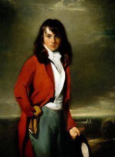 Sir Thomas Lawrence (British 1769–1830) [Romanticism, Portrait artist] Portrait of Arthur Atherley as an Etonian, circa 1791.