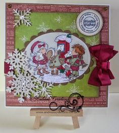 """Tattered Lace Snowflakes and LOTV """"Lots of  Letters"""""""