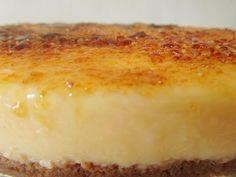 tarta de crema catalana Super sencilla de hacer, en termomix y muy rica Bakery Recipes, Sweets Recipes, Pie Recipes, Recipies, Spanish Desserts, Desserts With Biscuits, Thermomix Desserts, Crazy Cakes, Pie Cake