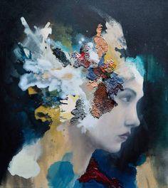 "Saatchi Art Artist Jesùs Leguizamo; Painting, ""Myth"" #art"
