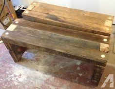 rough cut tv stand | rough cut lumber bench seats.