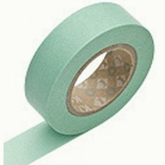 Mint tape.... could use to decorate mason jars