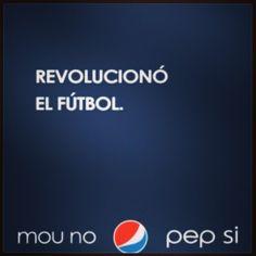 #Marketing #Mercadeo #MarketingDeportivo #Argentina #Pepsi #Fútbol #Soccer #Football #InstaPic #InstaGood #InstaMood #InstaDaily #Instagramers #PhotoShoot #PhotoGood #PhotoDaily #PhotoOfTheDay #PictureOfTheDay #IgersOfTheDay #IgersVe #IgersCcs #Webstagram #Statigram Mou NO, Pep SI. #Padgram