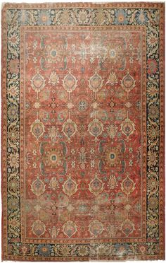 Nasser Luxury Rugs - Product - Antique Sultan Abad - x Iranian Rugs, Iranian Art, Deep Carpet Cleaning, Interior Rugs, Cheap Rugs, Sultan, Home Rugs, Woven Rug, Handmade Rugs