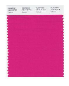Pantone 18-2140 TCX Smart Color Swatch Card, Cabaret