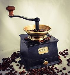 Antique BALDWIN SON & CO's No.3 Coffee Grinder Mill Cast-Iron Moulin cafe c1860