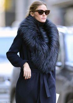 luxury fur scarf, custom made in @AKleatherware