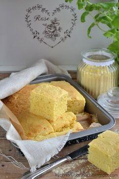 kuchnia na obcasach Chleb kukurydziany - Cornbread