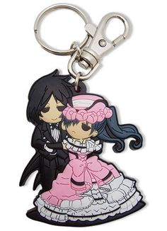 Black Butler - Sebastian & Ciel Dance PVC Key Chain from Collectors Crate. Saved to keychains.