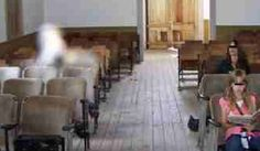 The story behind this creepy pic, takenat an old church in Bannack, Montana, is that the woman on the right heard shuffling sounds coming from the apparition. She didn't see anything, however, until after developing this photo. Established in 1862, Bannack is a well-preserved ghost town that was eventually abandoned in the 1970s. Is the strange mist the spirit of a former resident?
