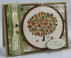 Leaves of a Tree by wjohnso - Cards and Paper Crafts at Splitcoaststampers