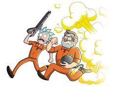 Rick and Morty crossover with Gravity Falls. Rick And Morty Crossover, Rick Und Morty, Wubba Lubba, Get Schwifty, Cartoon Crossovers, Star Vs The Forces Of Evil, A Cartoon, Fan Art, Deviantart